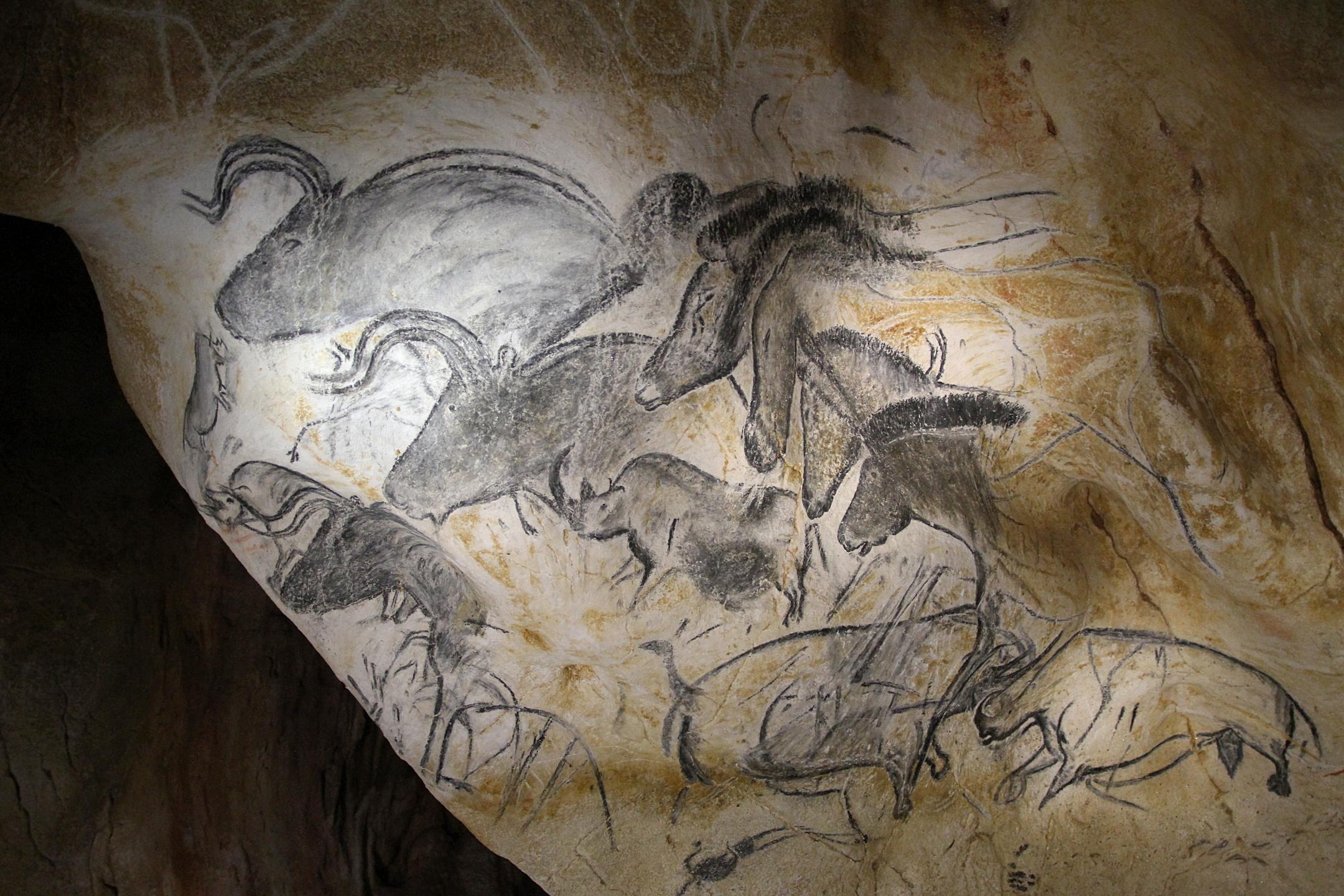 Ard¨che Caverne du Pont d Arc Réplique de la Grotte Chauvet Un