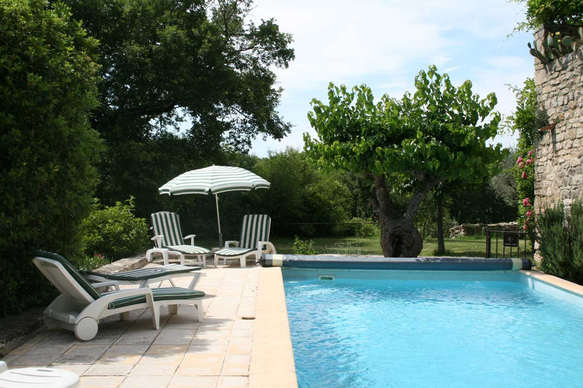 Gite south of frence provence cevennes ardeche with for Ardeche gites piscine