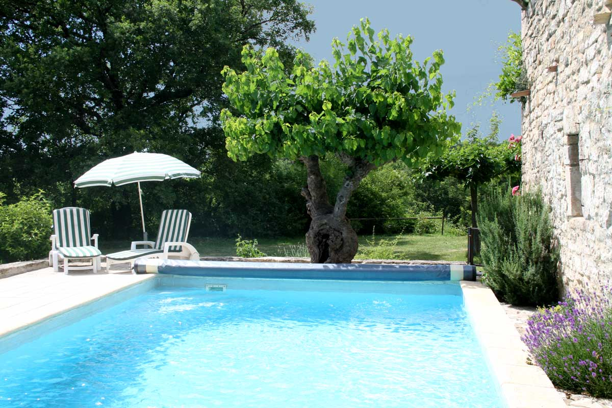 Gite avec piscine barjac les romarins - Chambre d hote ardeche avec piscine ...